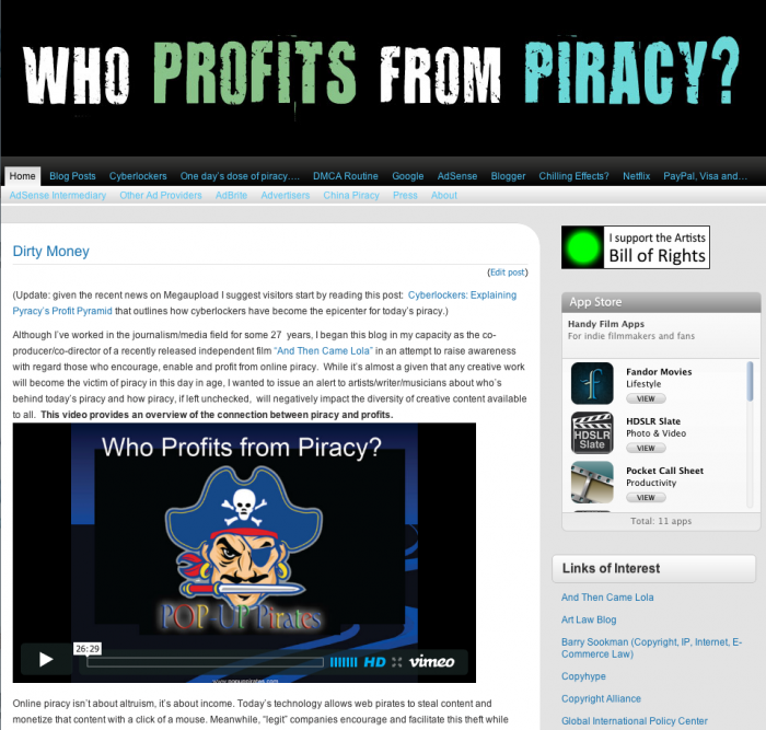 Who Profits from Piracy
