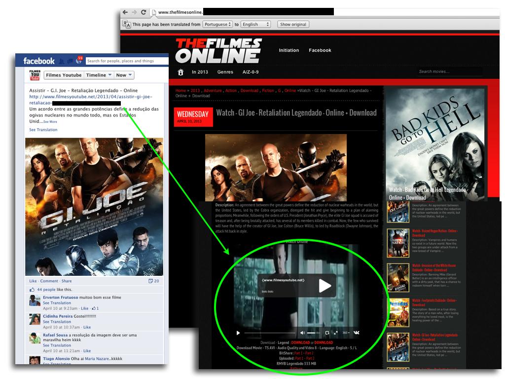 filme share online